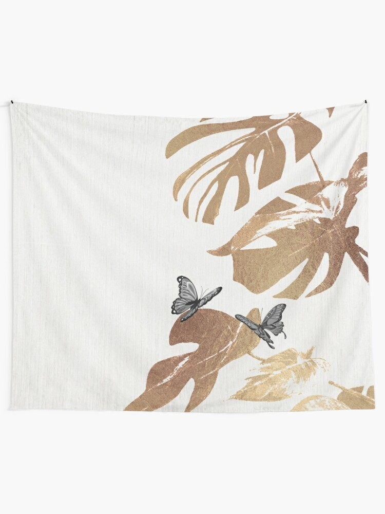 Alternate view of Fluttering Nature I Tapestry