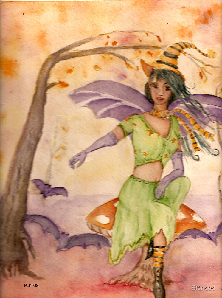 Halloween Witch by Blended