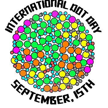 'Colorful Dots September 15th' International Dot Day Gift by leyogi