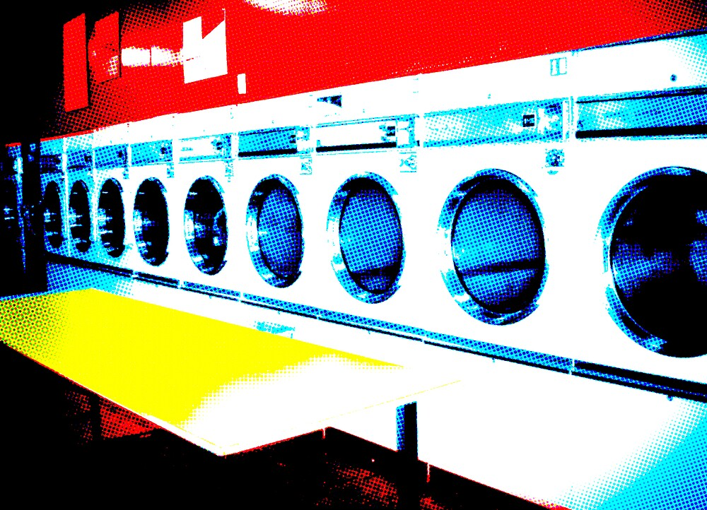 Laundrette by fishbrain