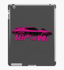 Last of the v8s iPad Case/Skin