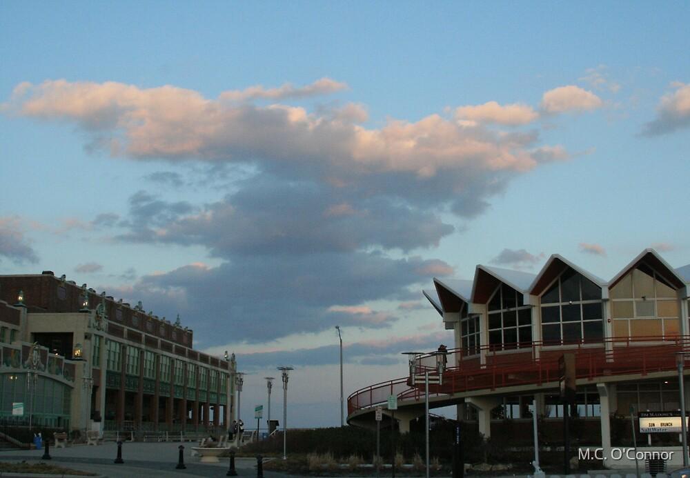 Asbury Park Boardwalk by M.C. O'Connor