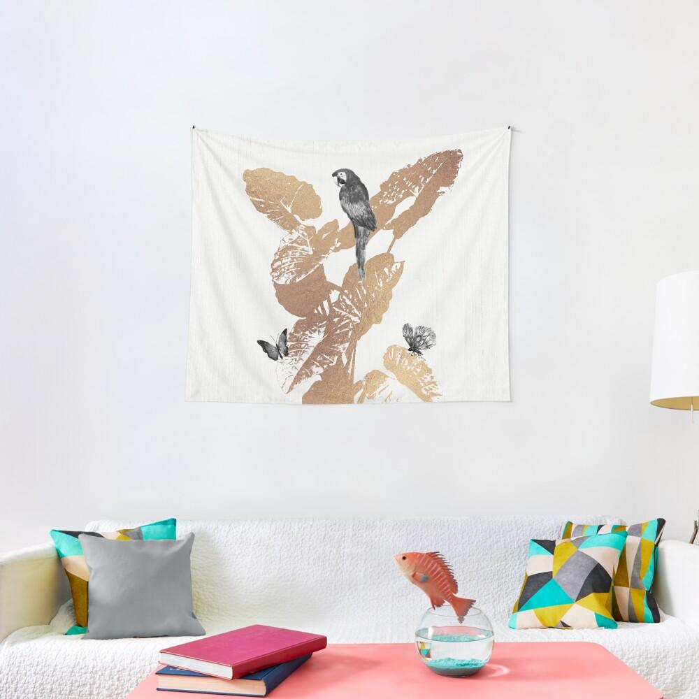 Fluttering Nature II Tapestry