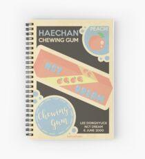 Cuaderno de espiral melocotón haechan!