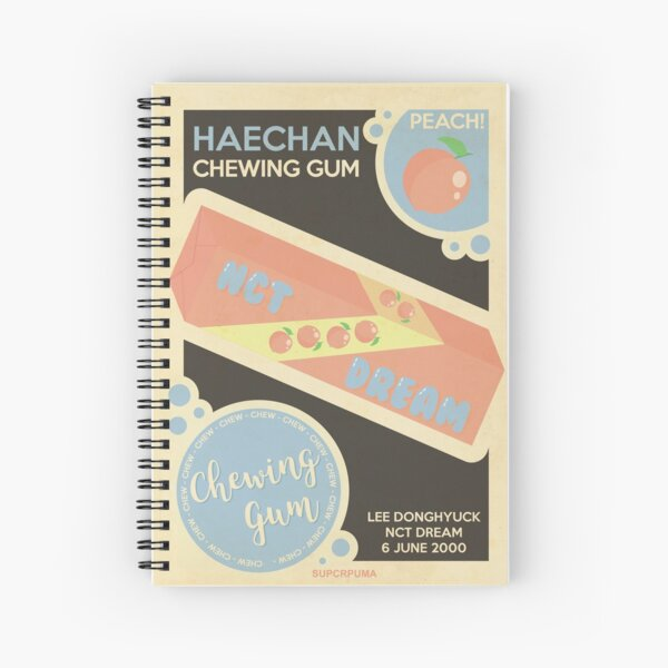 peach haechan! Spiral Notebook
