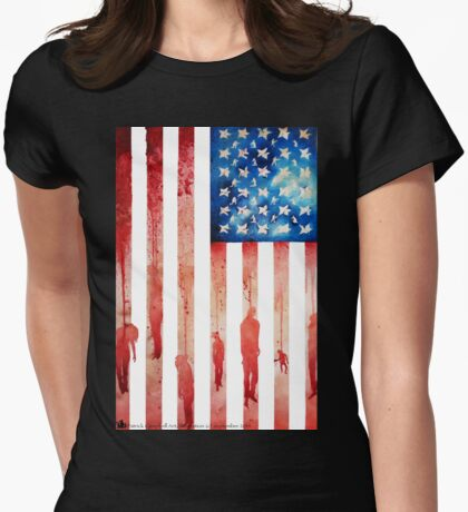 New Age of Slavery Womens Fitted T-Shirt
