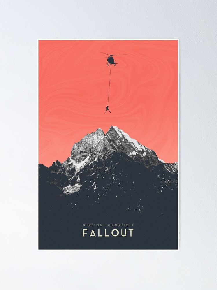 Alternate view of Mission Impossible Fallout Poster