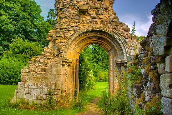 Doorway by Trevor Kersley