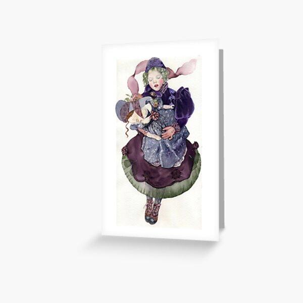 Winter dream Greeting Card