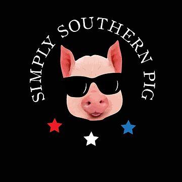 Simply Southern Pig Shirt by Diardo