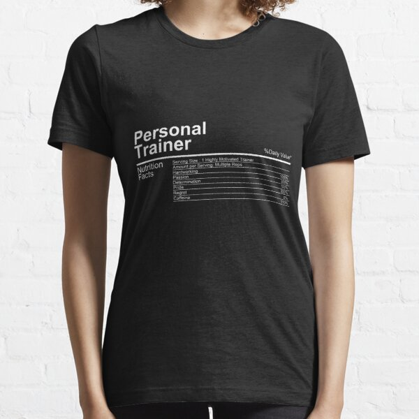 Funny Personal Trainer Shirt perfect as gift Essential T-Shirt