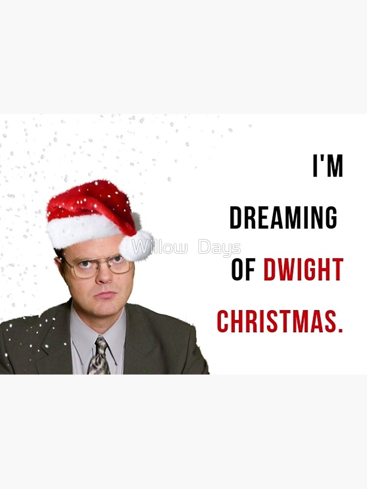 Dwight Christmas.Dwight Christmas The Office Tv Show Christmas Card Office Us Christmas Card Meme Greeting Cards Greeting Card