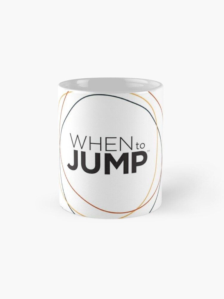 Alternate view of When To Jump Mug