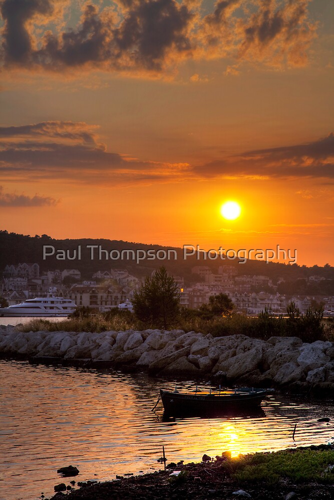 Kefalonian Sunset 3 by Paul Thompson Photography