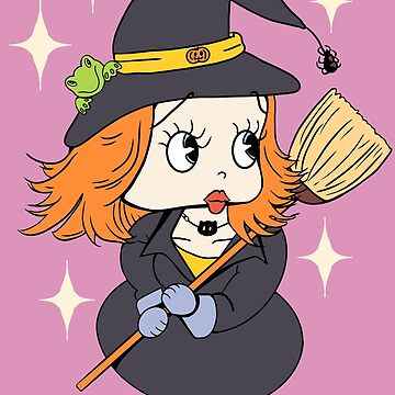 Cute witch red hair by MimieTrouvetou