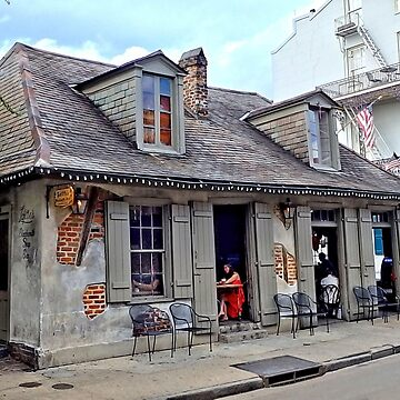 Lafitte's Blacksmith Shop Bar, New Orleans, LA by BlackDogCountry