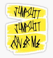 jumpsuit  Sticker