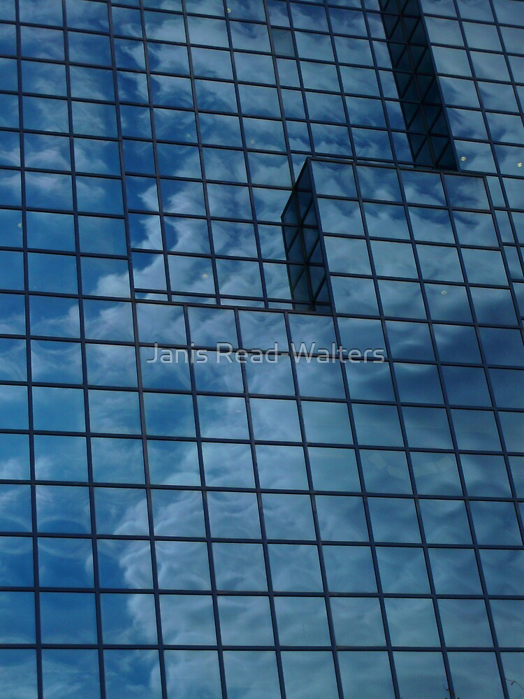 reflective lines by Janis Read-Walters