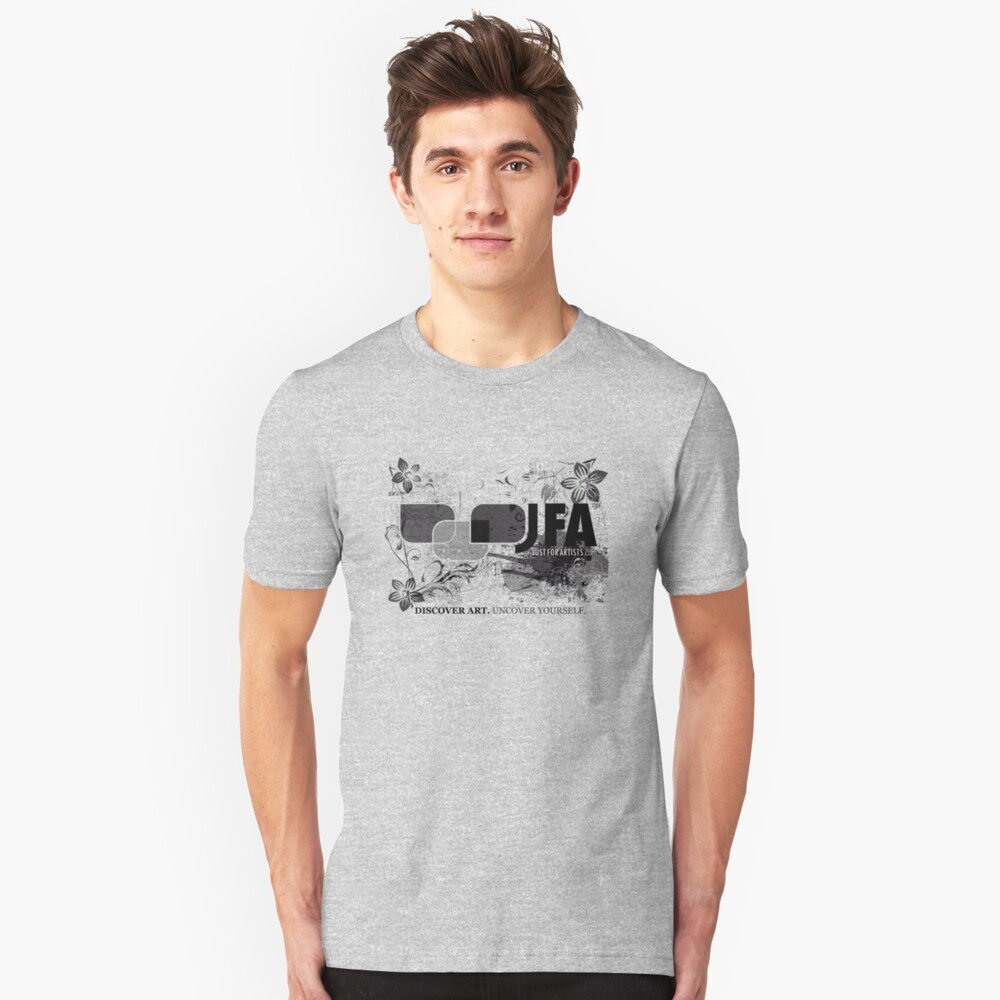 Just For Artists T-Shirt Unisex T-Shirt Front