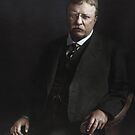 Theodore Roosevelt  by Marina Amaral