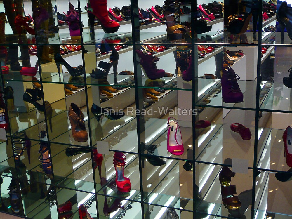 For the love of shoes by Janis Read-Walters