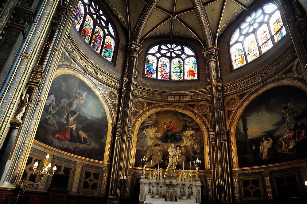 St Eustache main altar by Tony Dempsey