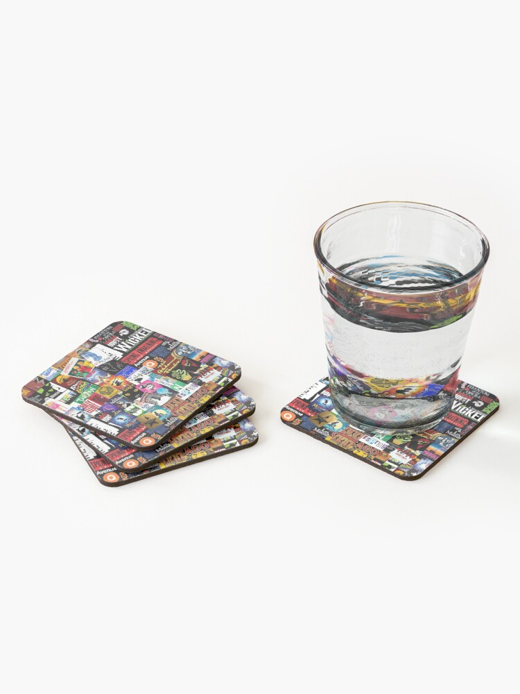 Alternate view of Musicals Collage II Coasters (Set of 4)