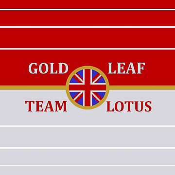 Gold Leaf Team Lotus design by GetItGiftIt