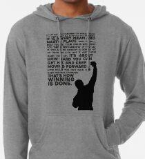 Sudadera con capucha ligera Rocky Motivation