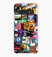 Musicals Collage II Case/Skin for Samsung Galaxy