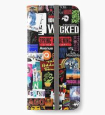 Musicals Collage II iPhone Wallet/Case/Skin