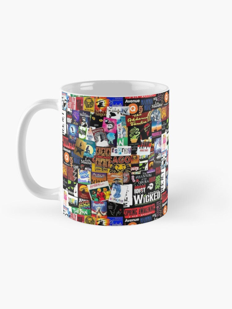 Alternate view of Musicals Collage II Mug