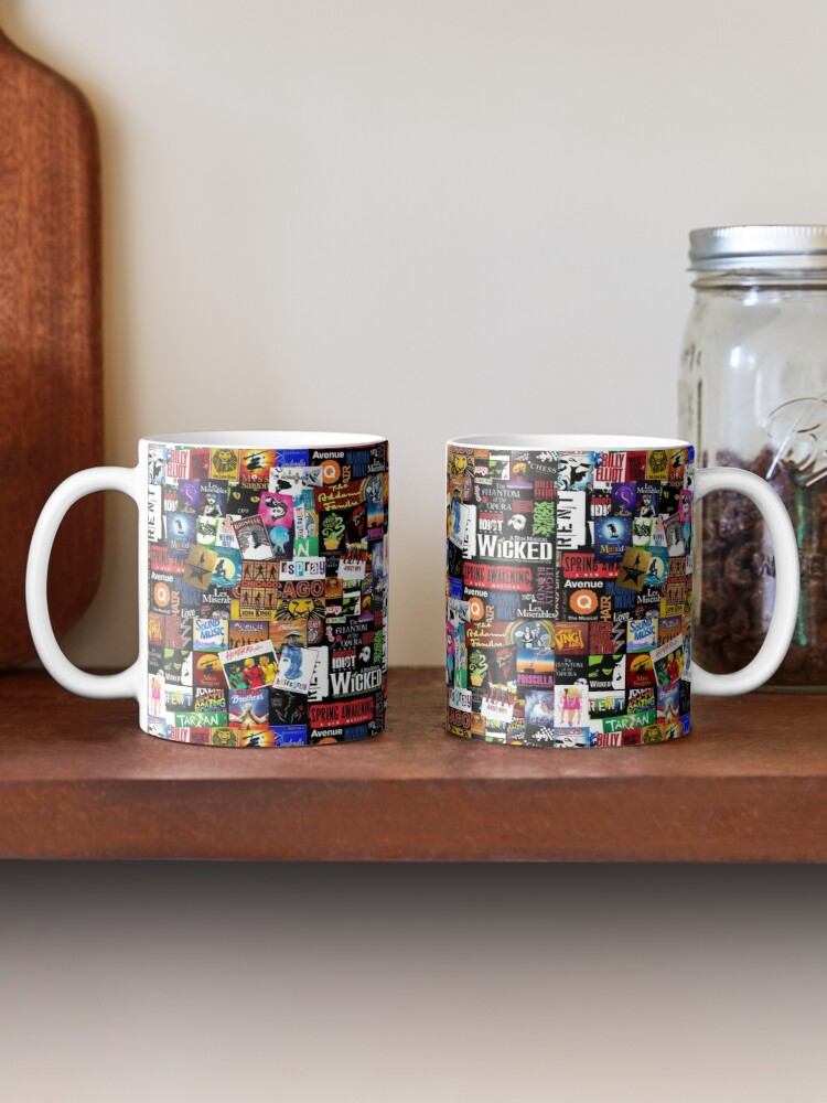 Alternate view of Musicals Collage II Mug