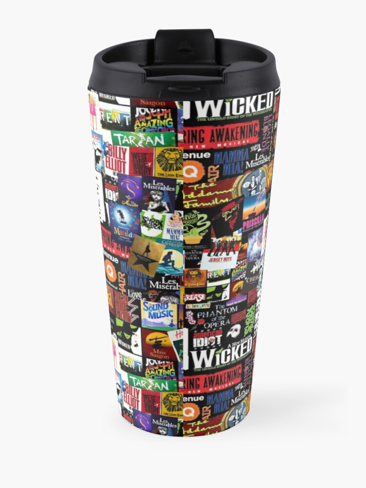 Alternate view of Musicals Collage II Travel Mug