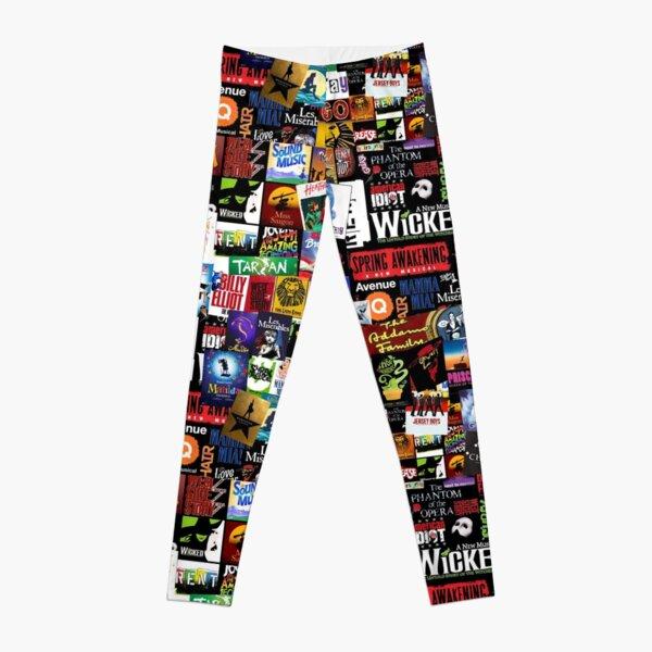 Musicals Collage II Leggings