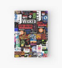 Cuaderno de tapa dura Collage de musicales II