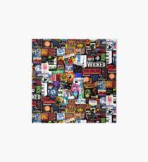Musicals Collage II Art Board