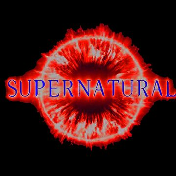 supernatural  logo by bonjonodon
