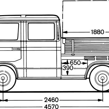 Doka VW T3 pickup by 66latitudenorth