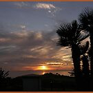 Sunset over Catalina by George Wester
