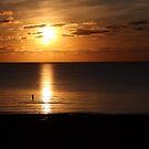 Fishing at Sunset at the cape by daytona235