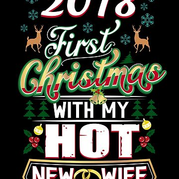 First Christmas With Hot New Wife 2018 Married Couple by JapaneseInkArt