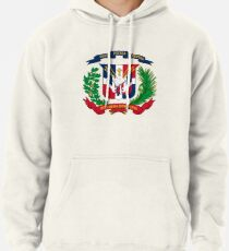 Dominican Republic coat of arms Pullover Hoodie