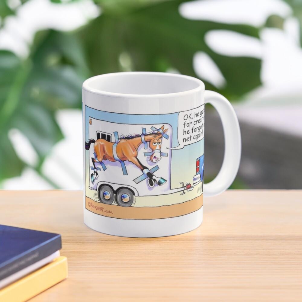 "Fergus the Horse: ""Duck Tape Huh?"" Comic Strip Mug"