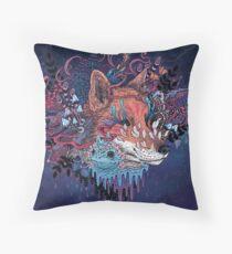 Envoy (Kitsune) Throw Pillow