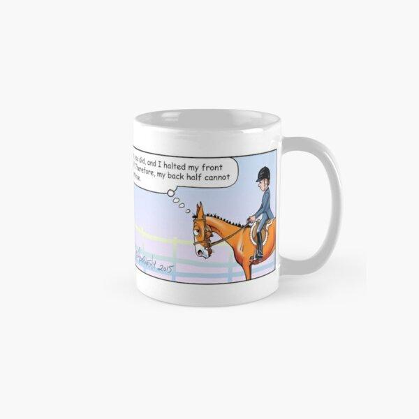 "Fergus the Horse: ""Half-Halt"" Comic Strip Classic Mug"