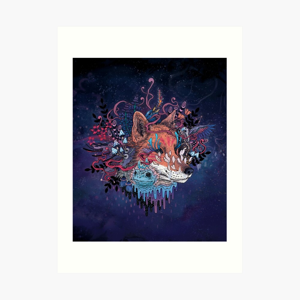 Envoy (Kitsune) Art Print