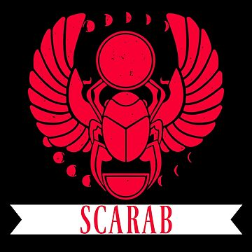 Scarab Ancient Egypt Archaeology & History Lovers Design by mrkprints