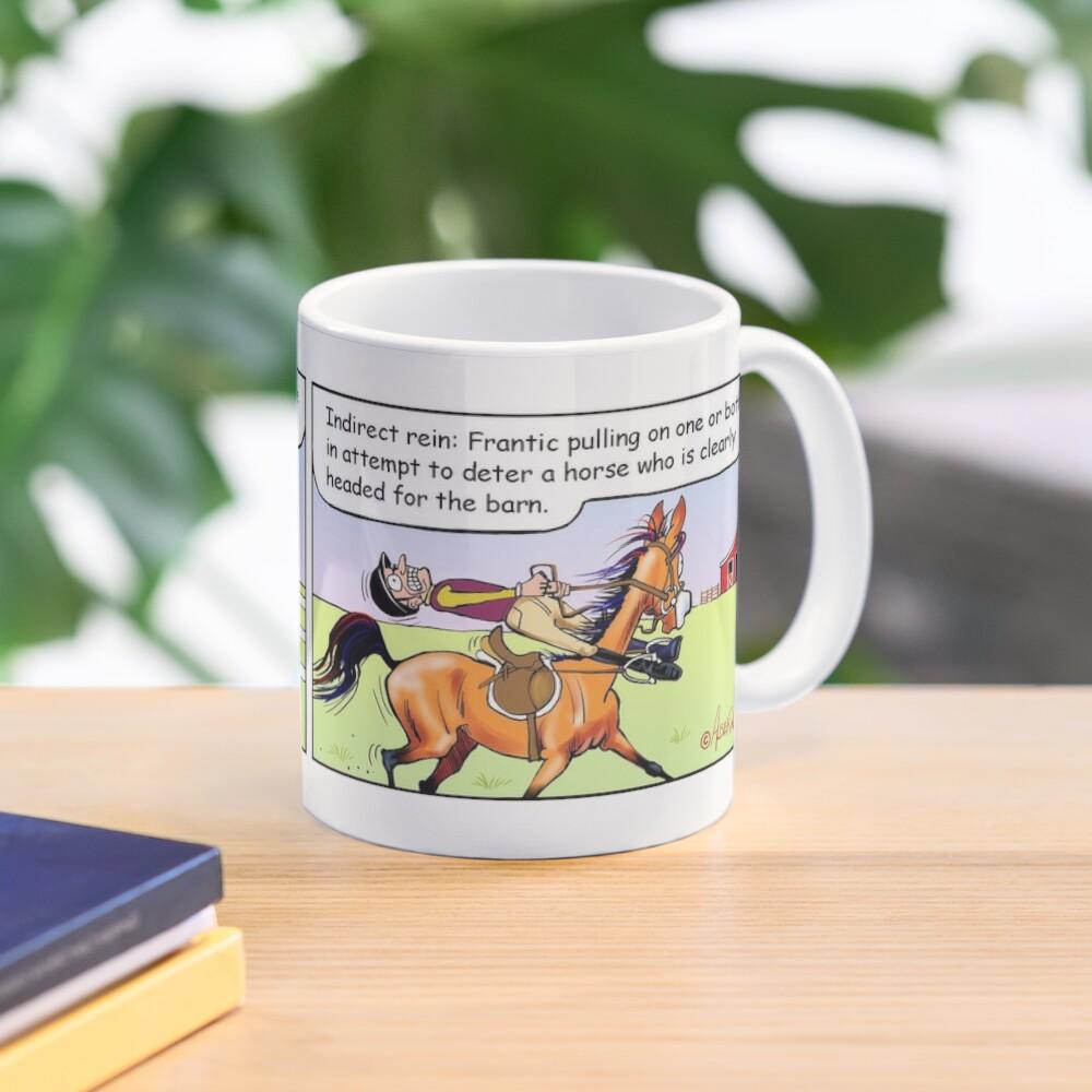 "Fergus the Horse: ""Direct Rein"" Comic Strip Mug"