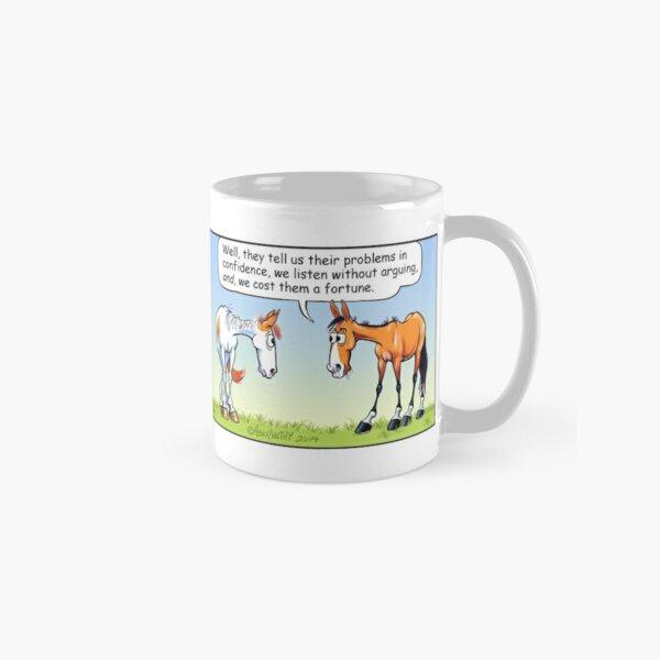 "Fergus the Horse: ""Therapist"" Comic Strip Classic Mug"